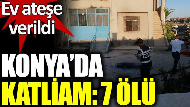 Katliam! Silahlı saldırı sonrası ev ateşe verildi: 7 ölü