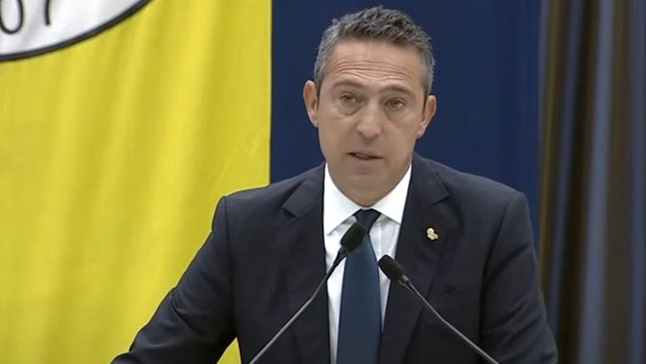 Fenerbahçe Başkanı Ali Koç: 250 bin ağaç dikme sözü veriyorum